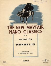 Devotion - The New Mayfair Piano Classics Series No. 23