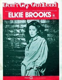 Don't Cry Out Loud - Featuring Elkie Brooks
