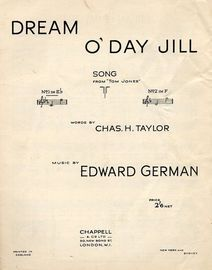 Dream O Day Jill - Song in the key of E flat major for Low Voice
