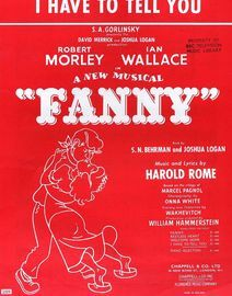 Fanny - Song from the comedy Fanny