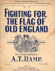 Fighting for the flag of old England