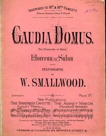 Gauida Domus for piano