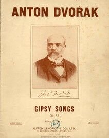 Gipsy Songs - For High Voice - Op. 55