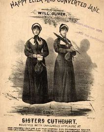 Happy Eliza and Converted Jane, sung by the Sisters Cuthbert at the Crystal Palace,