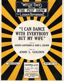 I Can Dance with Everybody But My Wife -Song One-Step- From The Wylie-Tate Revue