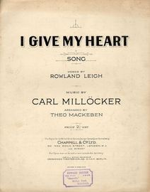 I Give My Heart - Song - from