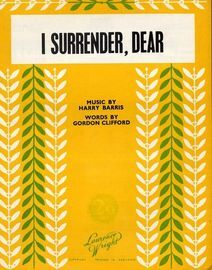 I Surrender, Dear - Laurence Wright