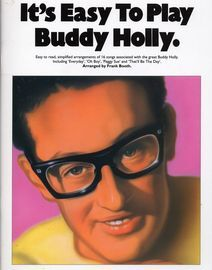Its easy to play Buddy Holly, 16 easy to read simplified arrangements by Frank Booth