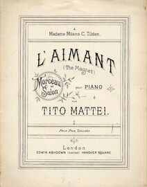 L Aimant, for piano