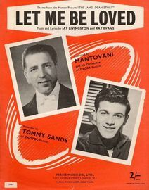 Let Me Be Loved : Mantovani: from