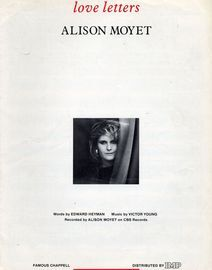 Love Letters - Featuring  Alison Moyet