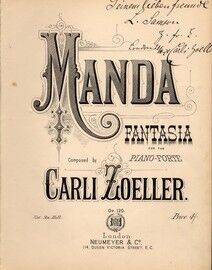 Manda, Fantasia for the Pianoforte