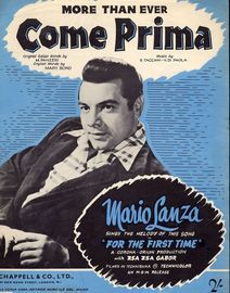 More Than Ever (Come Prima) - Featuring Mario Lanza