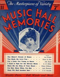 Music Hall Memories - The Masterpieces of Variety Part 11 - Ada Reeve