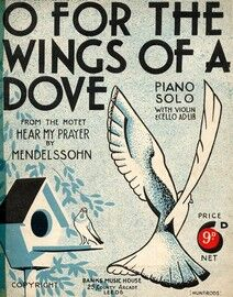 O For the Wings of a Dove, from the Motet