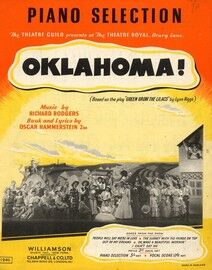 Oklahoma, piano selections, stage show
