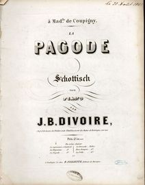 Pagode. Schottisch for piano solo