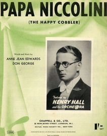Papa Niccolini (The Happy Cobbler): Jack Payne, Eric Winstone, Henry Hall