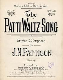 Patti Waltz Song