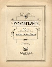 Peasant Dance -  for piano