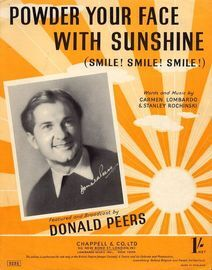 Powder your Face with Sunshine - Featuring Donald Peers