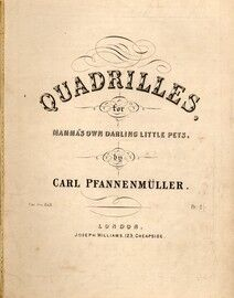 Quadrilles, for mamas own darling little pets