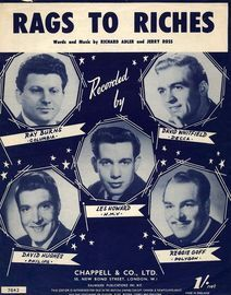 Rags to Riches - Featuring Les Howard, Reggie Goff, David Whitfield, Ray Burns and David Hughes