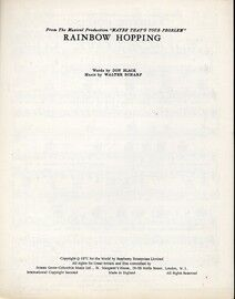 Rainbow Hopping, from the musical production Maybe thats your Problem