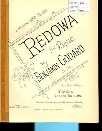 Redowa. For Piano Solo