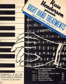 Right Hand Treatments - Popular style piano playing part IV