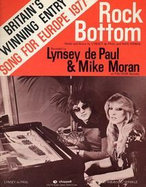 Rock Bottom - Winning song for Europe 1977 - Featuring Lynsey de Paul & Mike Moran
