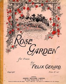 Rose Garden,  for piano