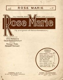 Rose Marie - Valse from