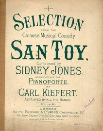 San Toy - Piano Selection