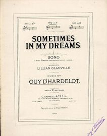 Sometimes In My Dreams - Song - In the key of F major for medium voice