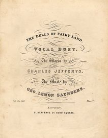 The Bells of Fairy Land - Vocal Duet
