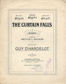 The Curtain Falls - Song - In the key of B flat major