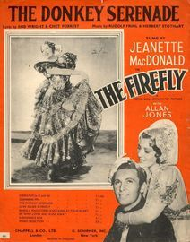 The Donkey Serenade - As performed by Jeanette MacDonald and Allan Jones in
