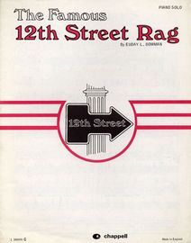 The Famous 12th Street Rag - Piano Solo