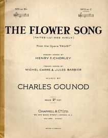 The Flower Song -  From the opera