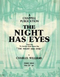The Night Has Eyes -  Theme From the Film