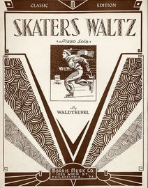 The Skaters. Waltz, for piano