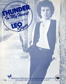 Thunder In My Heart - Featuring Leo Sayer