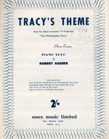 Tracy's Theme, piano solo from