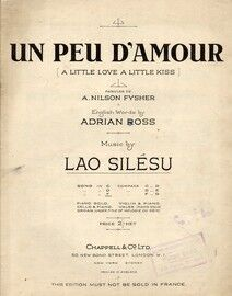 Un Peu D'Amour (A Little Love, A Little Kiss)  Song in the Key of F major