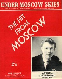 Under Moscow Skies: Tonny Dunning and the Adams Singers