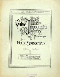 Valse Impromptu for the Pianoforte