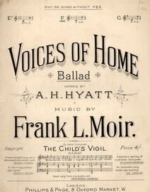 Voices of Home, in F
