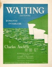 Waiting: Romantic Interlude for piano solo