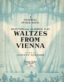 Waltzes From Vienna - Piano Selection